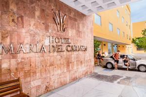 Hotel Maria del Carmen, Отели  Мерида - big - 13
