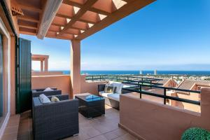 obrázek - LUXURY PENTHOUSE MARBELLA SEAVIEWS, TWO ROOMS, PARKING AND GOLF
