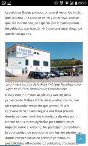 Hotel Casabermeja - Ríogordo