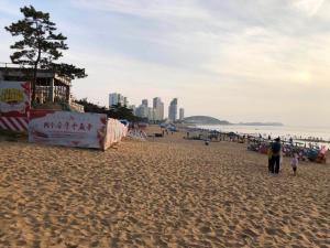 WeiHai Emily Seaview Holiday Apartment International Bathing Beach, Ferienwohnungen  Weihai - big - 45