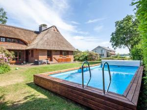 Ferienhaus REETselig mit Pool Sauna Kamin Garten und Seeblick - Blumenthal
