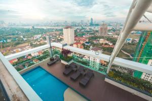 Infinity 28 Condominium, Appartamenti  Phnom Penh - big - 23