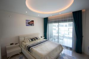 Konak Seaside Resort, Apartmanok  Alanya - big - 17