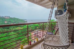 Sea View 1 BHK Stay, Vasco Goa, Apartments  Marmagao - big - 12