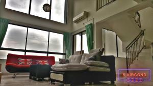 高级复式阁楼 5间房间(吉隆坡 KLCC 景色) - Salak South