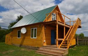 Дом для отпуска Уединенный домик на Байкале