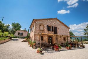 Agriturismo Il Castellaro, Загородные дома  Sassoferrato - big - 12