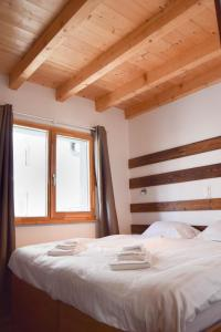 B&B Baraque Standard Room with Village and Mountain View - Accommodation - Le Châble
