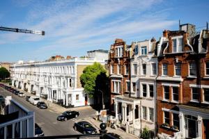 Luxury Top Floor Home In West Kensington W/Terrace, Ferienwohnungen  London - big - 21