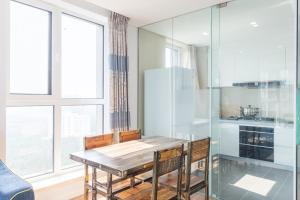 WeiHai Emily Seaview Holiday Apartment International Bathing Beach, Ferienwohnungen  Weihai - big - 76