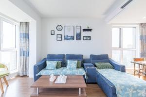 WeiHai Emily Seaview Holiday Apartment International Bathing Beach, Ferienwohnungen  Weihai - big - 78