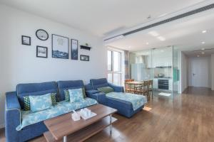 WeiHai Emily Seaview Holiday Apartment International Bathing Beach, Ferienwohnungen  Weihai - big - 79