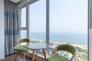 WeiHai Emily Seaview Holiday Apartment International Bathing Beach, Ferienwohnungen  Weihai - big - 80