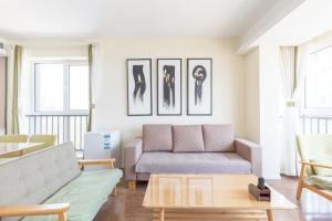WeiHai Emily Seaview Holiday Apartment International Bathing Beach, Ferienwohnungen  Weihai - big - 61