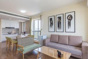 WeiHai Emily Seaview Holiday Apartment International Bathing Beach, Ferienwohnungen  Weihai - big - 63