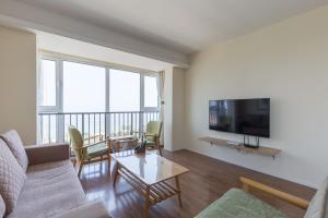WeiHai Emily Seaview Holiday Apartment International Bathing Beach, Ferienwohnungen  Weihai - big - 64