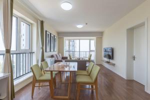 WeiHai Emily Seaview Holiday Apartment International Bathing Beach, Ferienwohnungen  Weihai - big - 65