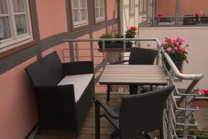 Urlaub im Fachwerk - Klink, Appartamenti  Quedlinburg - big - 70