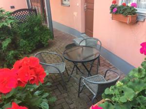 Urlaub im Fachwerk - Klink, Appartamenti  Quedlinburg - big - 52