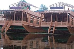Houseboat with Jaccuzi on Nigeen Lake, by GuestHouser 4834, Hotel  Srinagar - big - 15