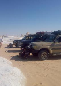 White desert, Campsites  Bawiti - big - 84
