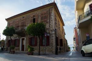 Traditional house of 1898 in the heart of old town of Nafplio Argolida Greece
