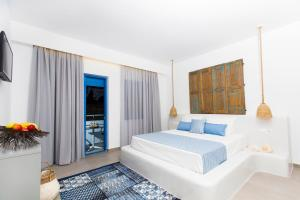 Double Room with Balcony and Sea View Lindos Portes Suites - Adults Only