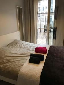 Apartament nad Odrą z tarasem