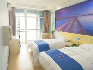 Hostels und Jugendherbergen - Pai Hotel Chongqing Longtou Temple North Railway Station Branch