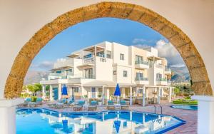 Pyrgos Blue, Apartmanhotelek  Mália - big - 3