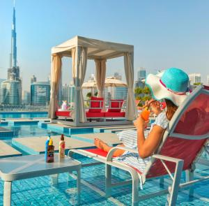 Canal Central Hotel - Dubaj