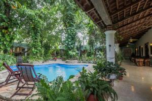 Casa Quetzal Boutique Hotel, Hotels  Valladolid - big - 57