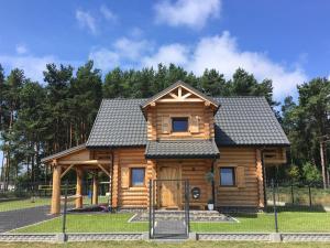 Dom Wakacyjny z bali Złoto Północy