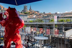 Auberges de jeunesse - ibis Styles Lausanne Center MadHouse