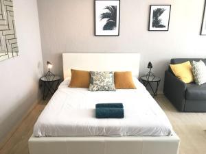 Modern Studio - 50 mètres des plages de la Croisette, Ferienwohnungen  Cannes - big - 4