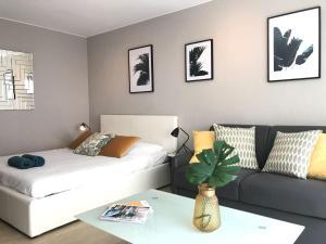 Modern Studio - 50 mètres des plages de la Croisette, Ferienwohnungen  Cannes - big - 8