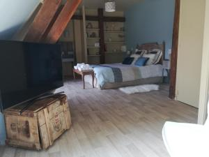 La Cour d'Hortense, Bed & Breakfast  Sailly-Flibeaucourt - big - 3