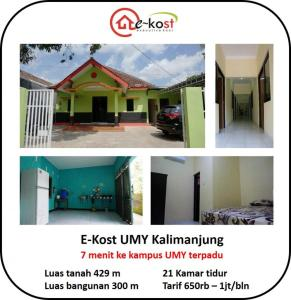 E-Kost UMY - Female Only - Patukan