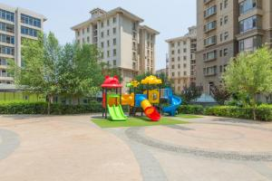 Dalian Aegean Sea Apartment, Apartmanok  Csincsou - big - 48