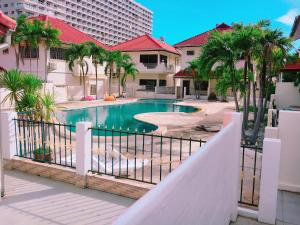 e-1 Pool view Condo with 4 Bed rooms for 18PAX - Ban Nong Hin