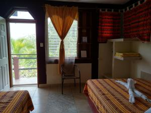 Double Room with Lake View Zapote Tree Inn