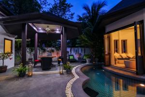 Tropical Balinese style 3 bedroom villa with pool - Ban Klang