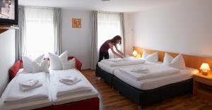 Goldene Traube, Мини-гостиницы  Зенден - big - 5