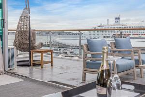 Princes Wharf 1BR Sub-Penthouse with Panoramic City & Ocean Views - Hotel - Auckland