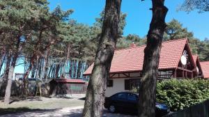 Domki przy wydmach Dźwirzyno