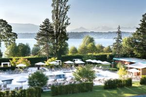 emblème de l'établissement La Réserve Genève Hotel & Spa
