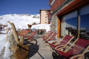 Le Sherpa Val Thorens Hôtels-Chalets de Tradition, Hotely  Val Thorens - big - 29