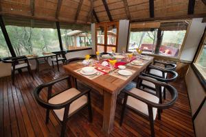 Ndzhaka Tented Camp, Luxusní stany  Rezervace Manyeleti - big - 22