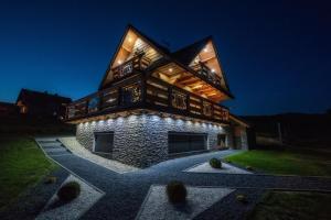 Luksusowy dom w górach ze strefą spa