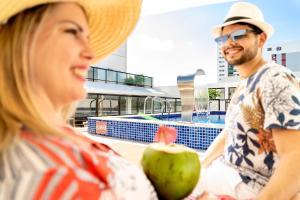 Hotel Manibu Recife, Hotely  Recife - big - 67